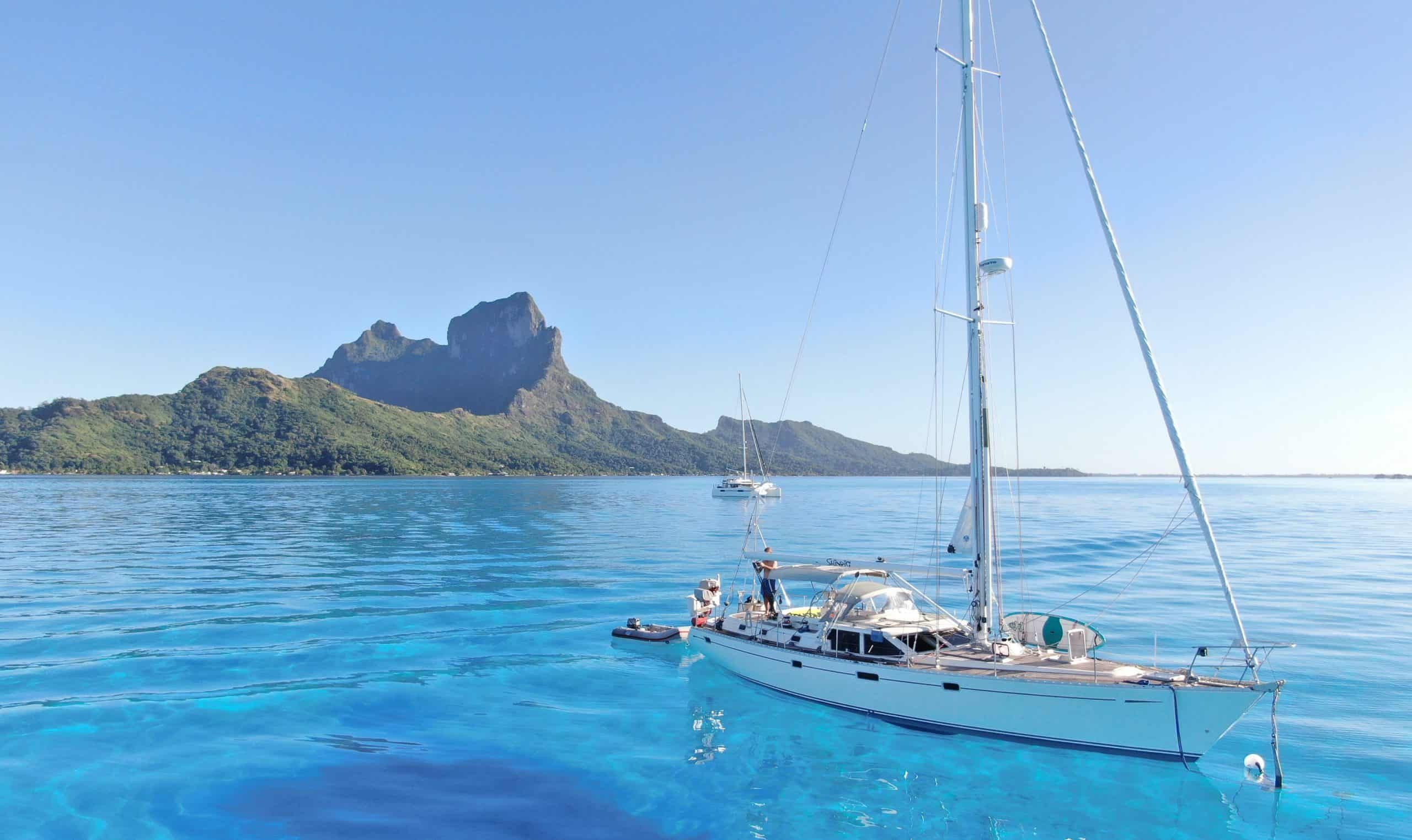 sustainable sailing bora bora