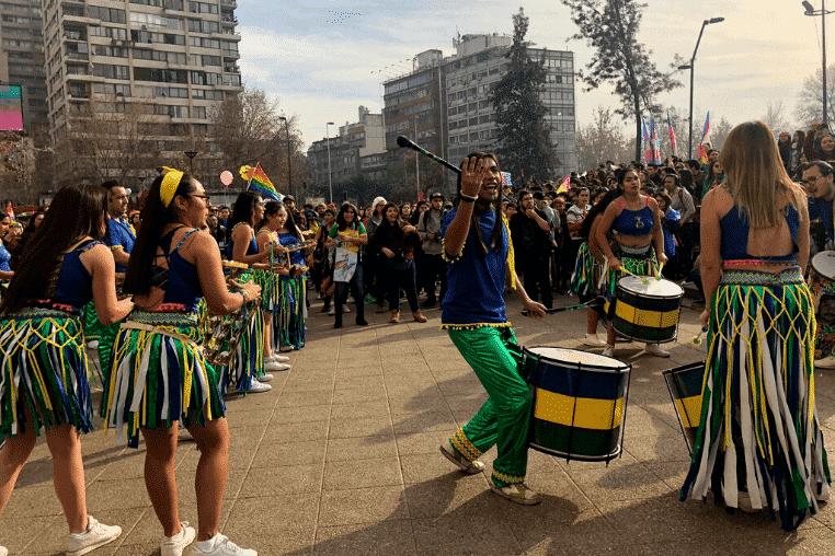 Pride festival in Santiago Chile