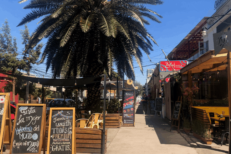 things to do in Santiago, Chile: Barrio Italia