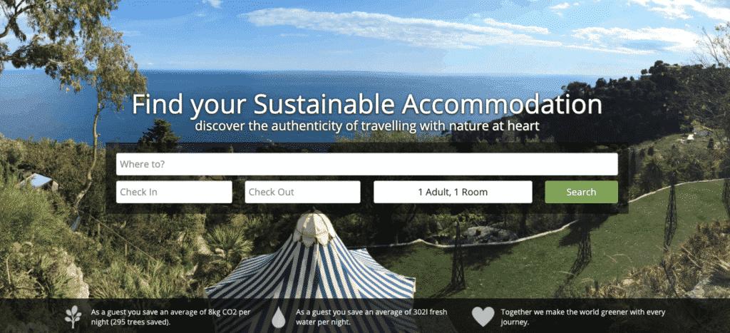 Ecobnb - sustainable accommodations worldwide