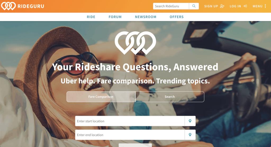 ride-sharing and carpooling