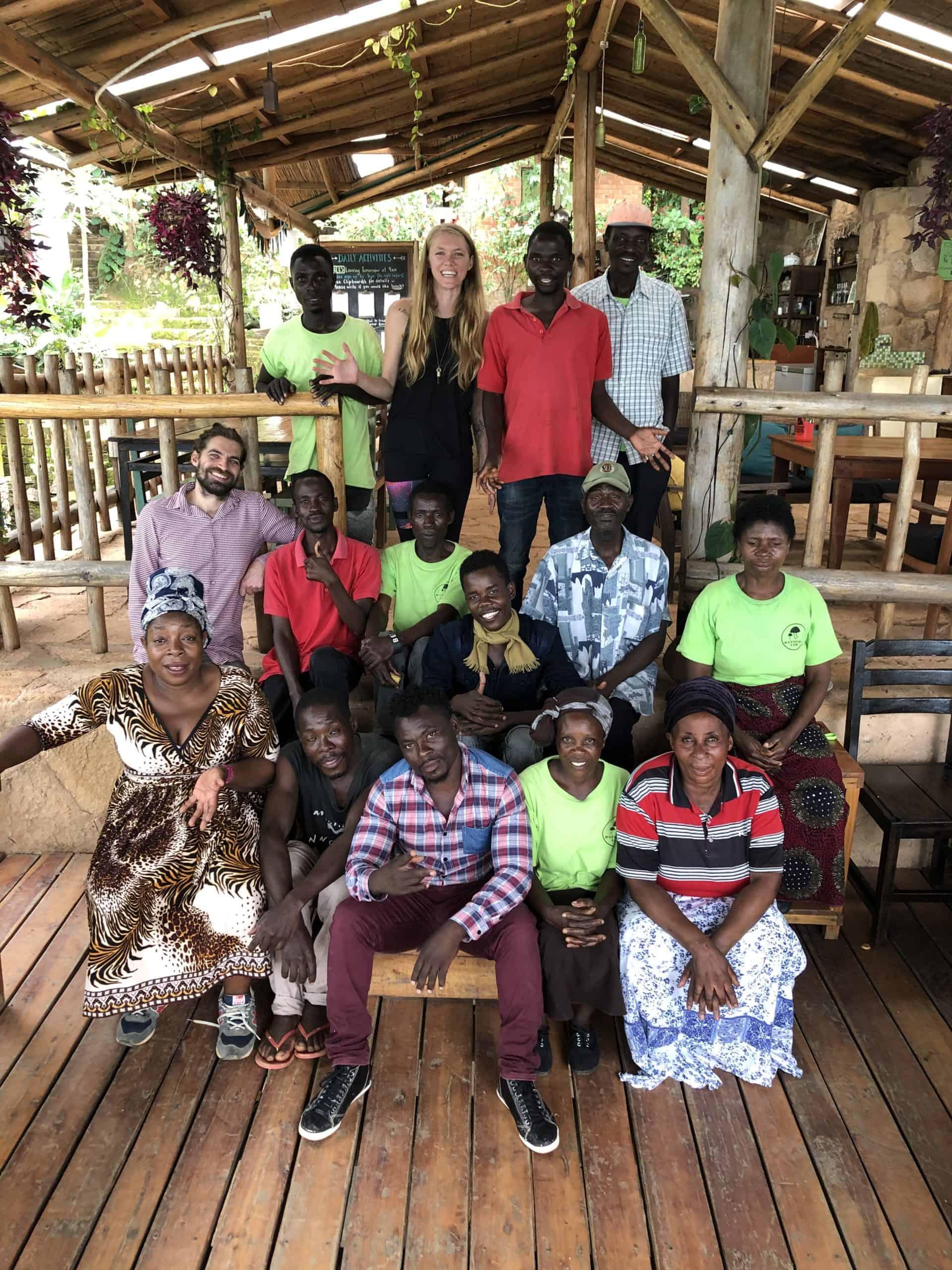 Eco-Lodge in Malawi Staff