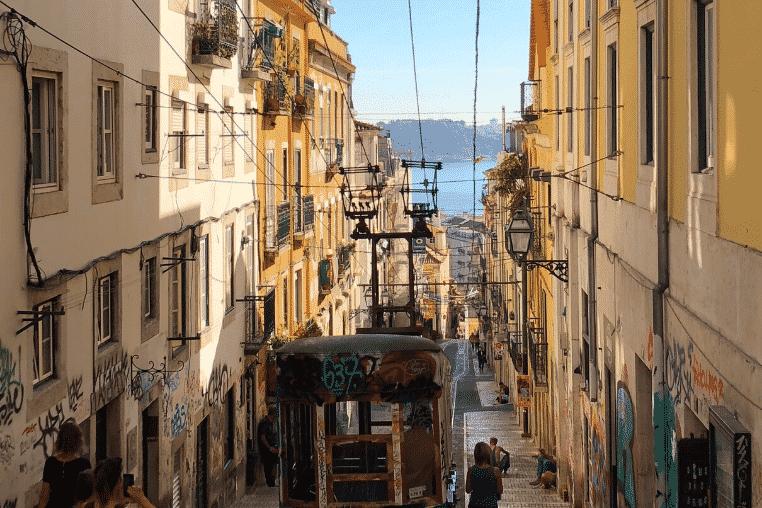 street car, Lisbon