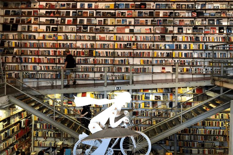 bookstore in Lisbon, Portugal