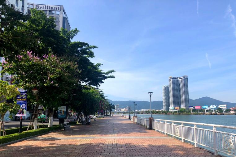 Da Nang waterfront