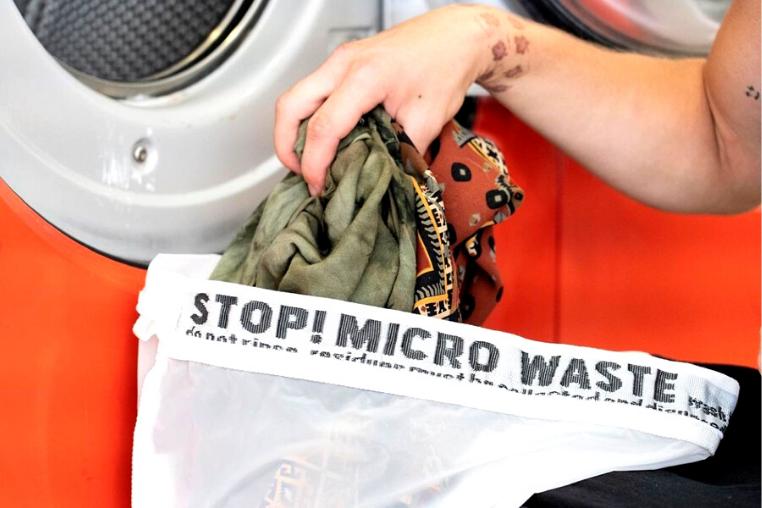 Guppyfriend microfiber washing bag