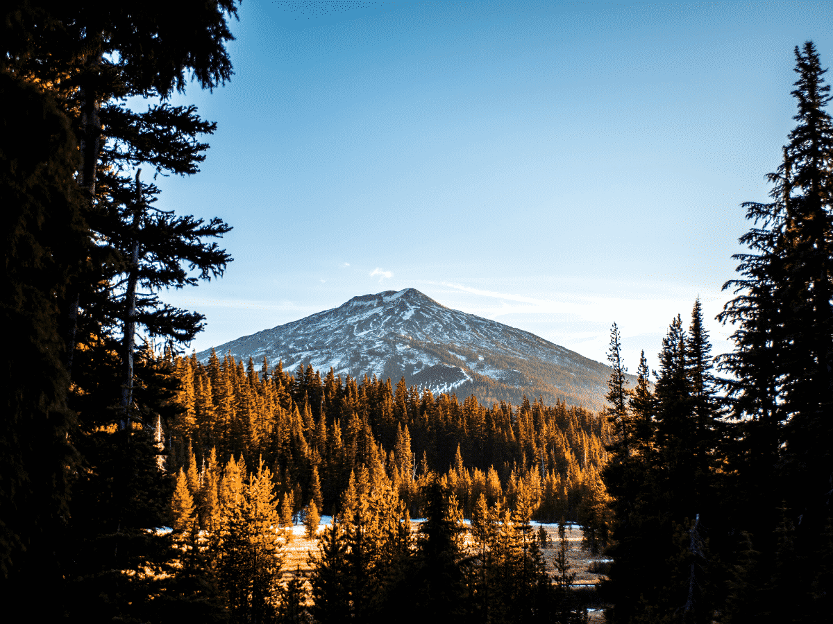 what to do in Bend Oregon: Mt Bachelor