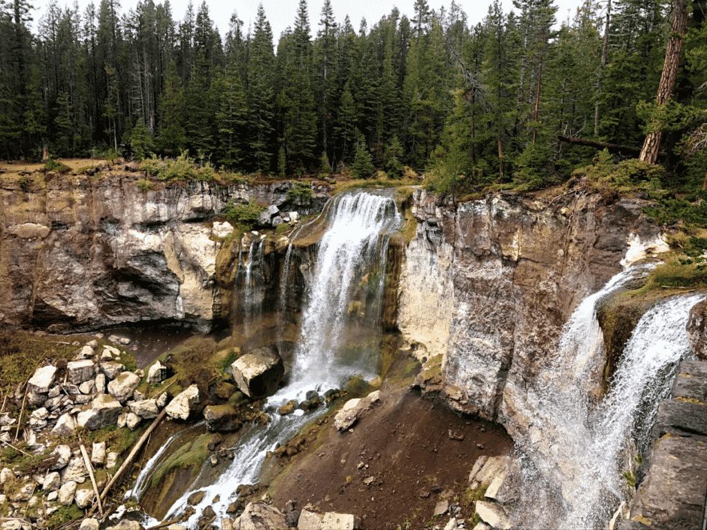 Paulina Falls, Newberry Volcano