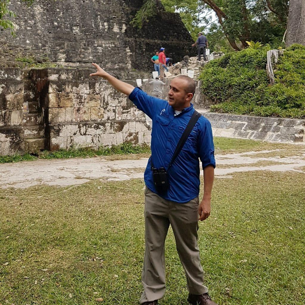 Guatemala Tour guide Pablo