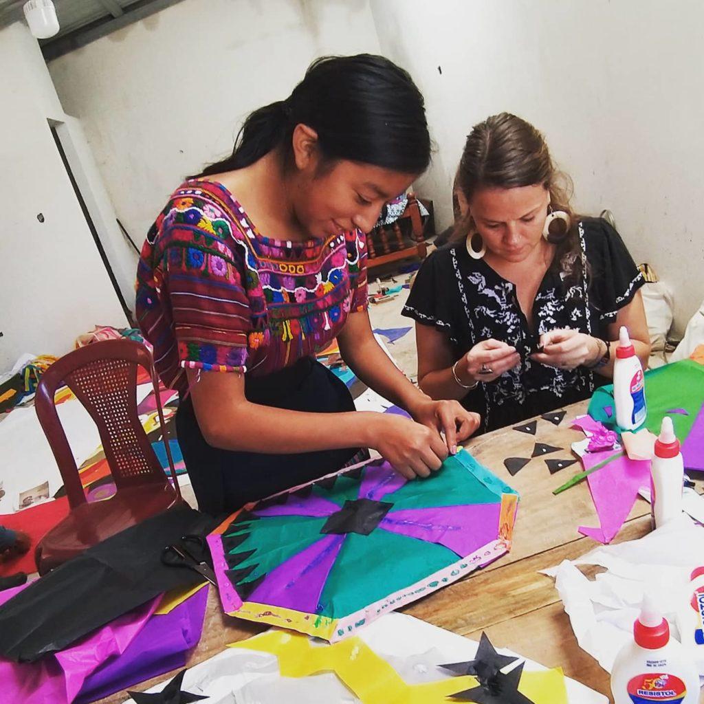Maya world girls sewing