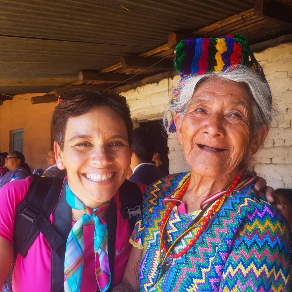 Guate 4 You founder with Guatemalan Woman