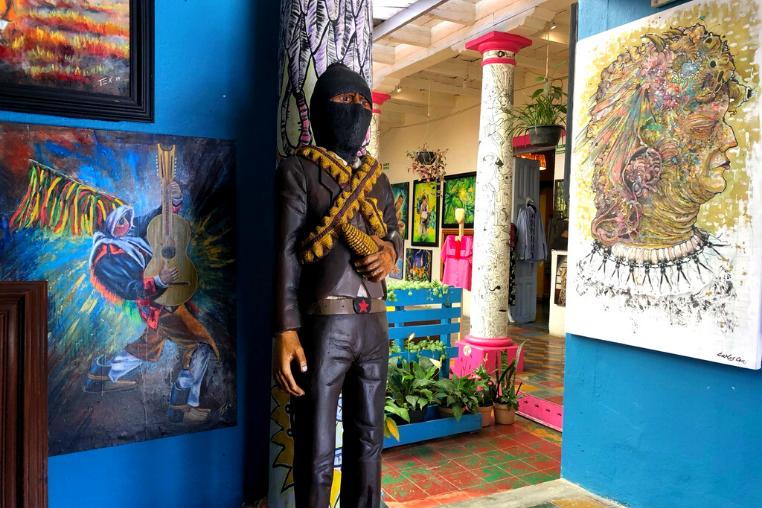 Zapatista art, San Cristobal