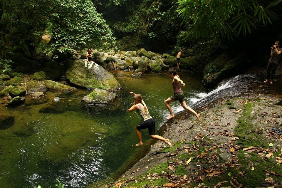 Sumatra River Waterfall