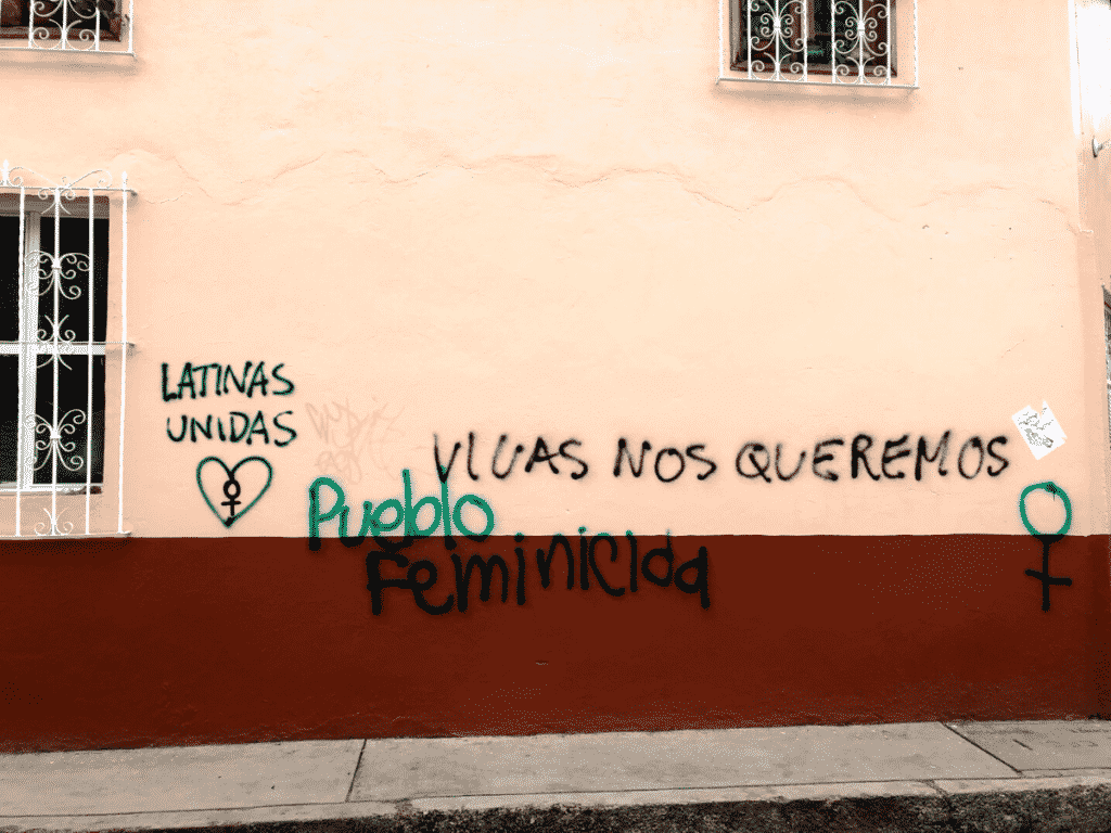femicide street art, Latin America
