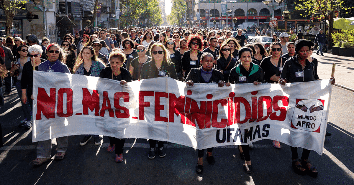 support the fight against femicide in Latin America while traveling