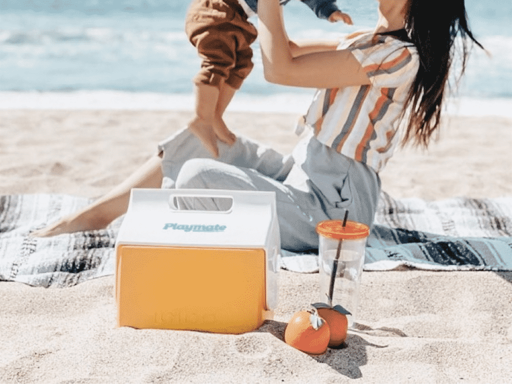 IGLOO recycled coolers