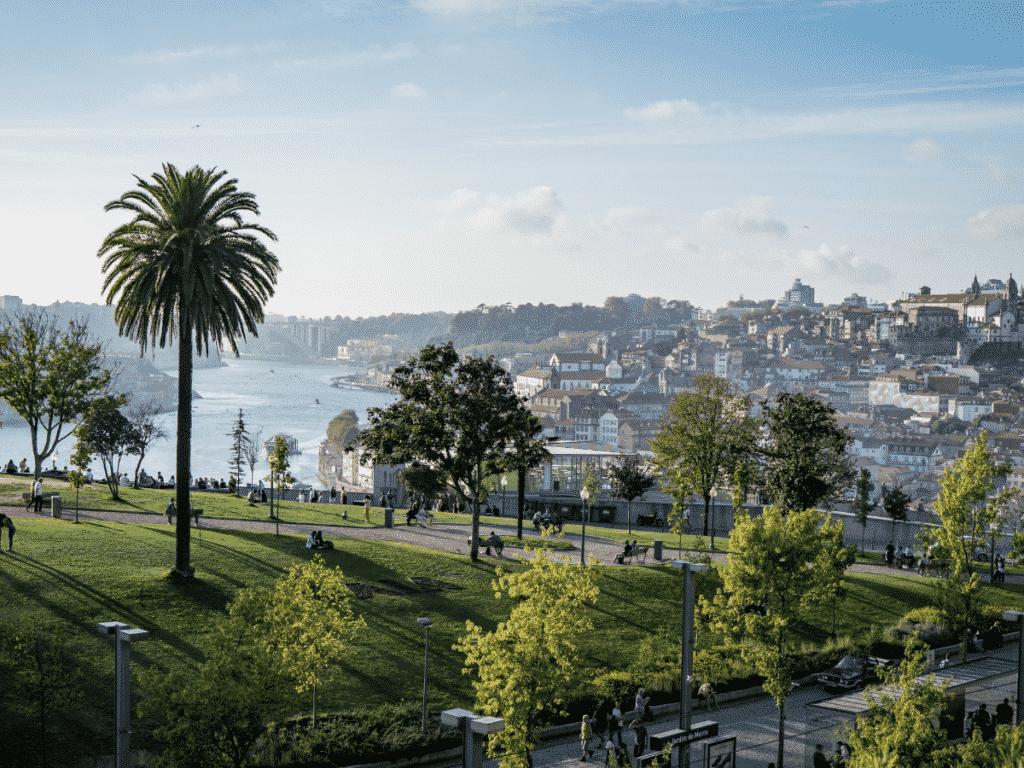 Jardin de Palacio Cristal, Porto
