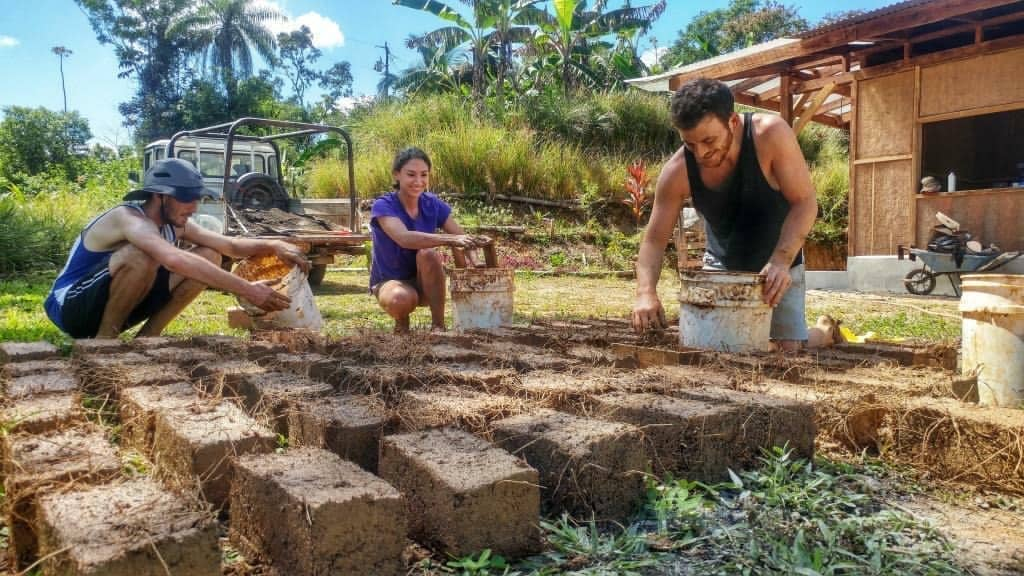 Working permaculture farm in Costa Rica