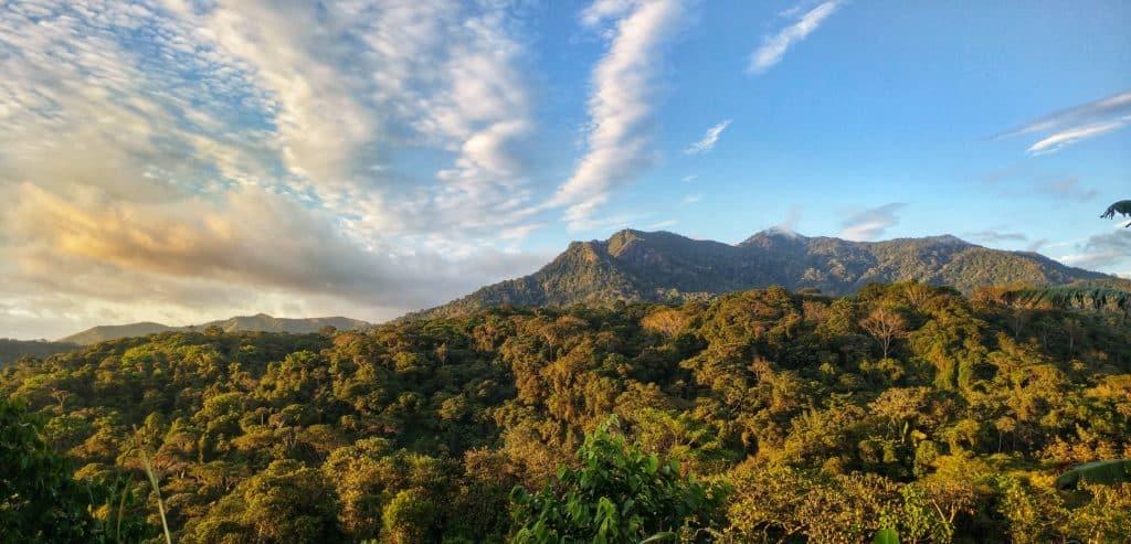 Costa Rica Rainforest Mountains